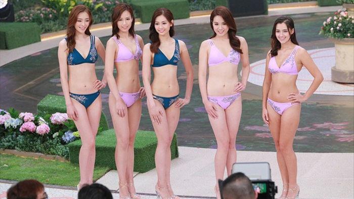 Tân Hoa hậu Hồng Kông được khen đẹp giống Địch Lệ Nhiệt Ba - 14