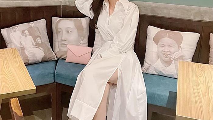 Giảm ngoạn mục 5kg trong 10 ngày, Cao Thái Hà tự tin diện bikini khoe dáng - 11