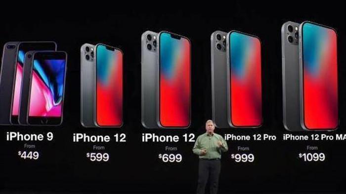 iPhone 12 nâng cấp sạc nhanh, thời lượng pin, quay video 3 camera cùng lúc