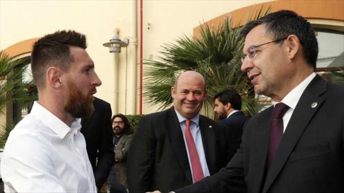 Barca đề nghị Messi ký tiếp hợp đồng đến năm 2022 - 1