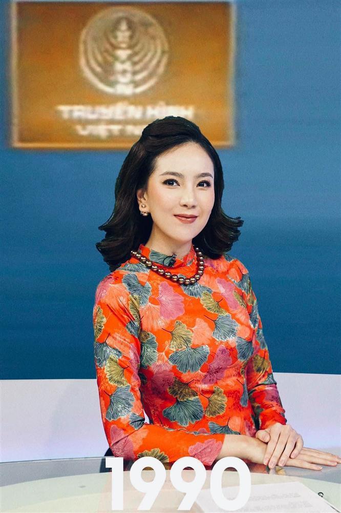 Mai Ngọc gợi nhớ lại huyền thoại Kim Tiến khi tái hiện hình ảnh MC VTV trong 50 năm qua-2