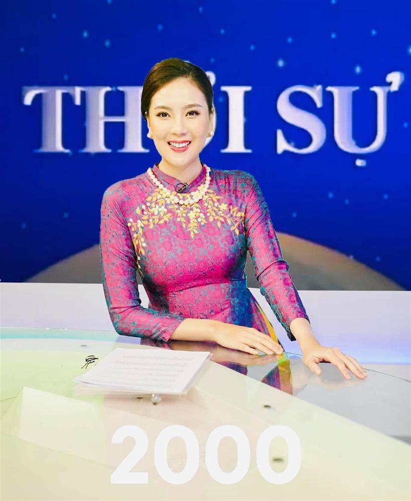Mai Ngọc gợi nhớ lại huyền thoại Kim Tiến khi tái hiện hình ảnh MC VTV trong 50 năm qua-3