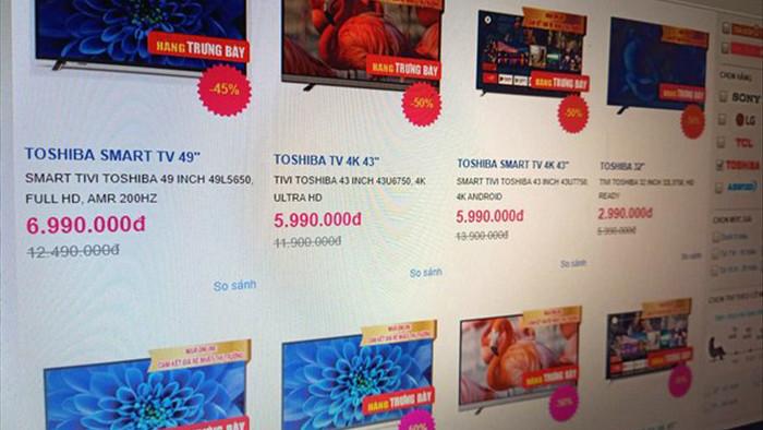 Có nên mua smart TV giảm giá sốc tới 50%?