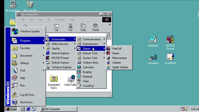 Trải nghiệm Windows 98 trên... smartphone Android - 1