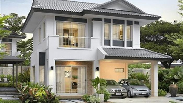 Mẫu nhà 2 tầng đẹp đơn giản hiện đại phù hợp cả nông thôn và thành thị - 19