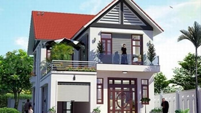 Mẫu nhà 2 tầng đẹp đơn giản hiện đại phù hợp cả nông thôn và thành thị - 3