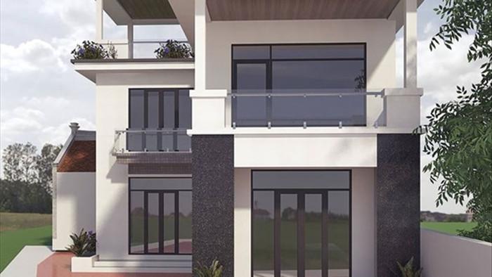 Mẫu nhà 2 tầng đẹp đơn giản hiện đại phù hợp cả nông thôn và thành thị - 6