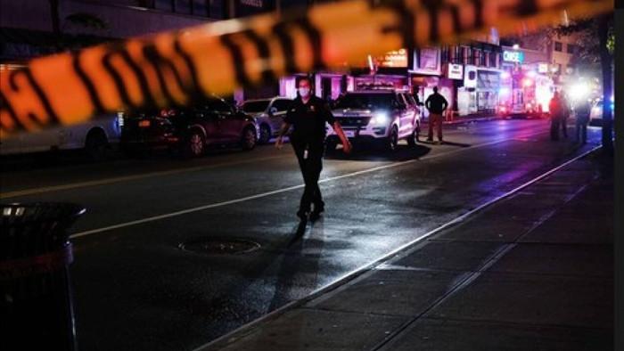Một vụ xả súng tại Mỹ. Ảnh: AFP.