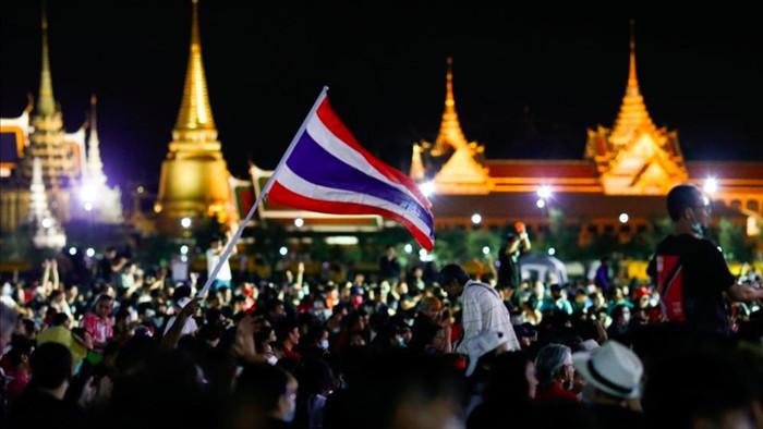 Biểu tình cực lớn ở Thái Lan để đòi hoàng gia cải tổ