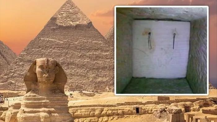 Phát hiện sửng sốt sau cánh cửa bí mật bên trong kim tự tháp Ai Cập - 1