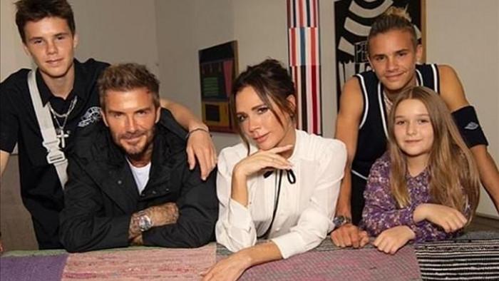 Sự xuất hiện của David Beckham cùng các con nhanh chóng thu hút giới truyền thông và người hâm mộ./.