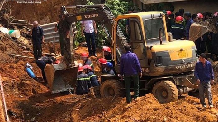 Sập taluy làm 4 người chết ở Phú Thọ: Khởi tố một bị can  - 1