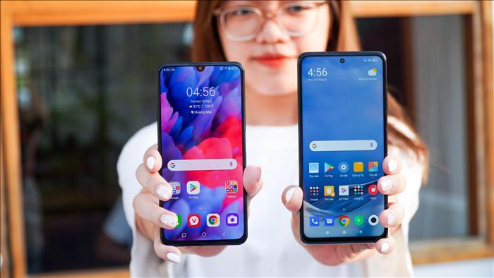 Poco X3 NFC đọ dáng Vsmart Aris: 7 triệu chọn smartphone nào? - 1