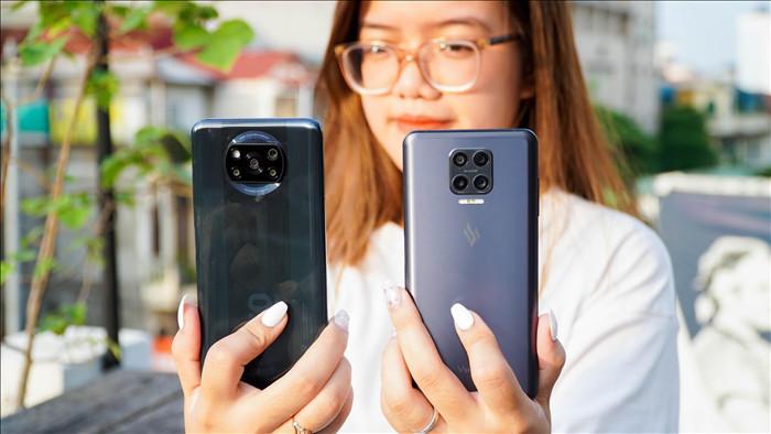 Poco X3 NFC đọ dáng Vsmart Aris: 7 triệu chọn smartphone nào? - 3