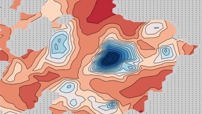 Nhiều hồ nước mặn được phát hiện trên sao Hỏa bên dưới cực Nam - 1
