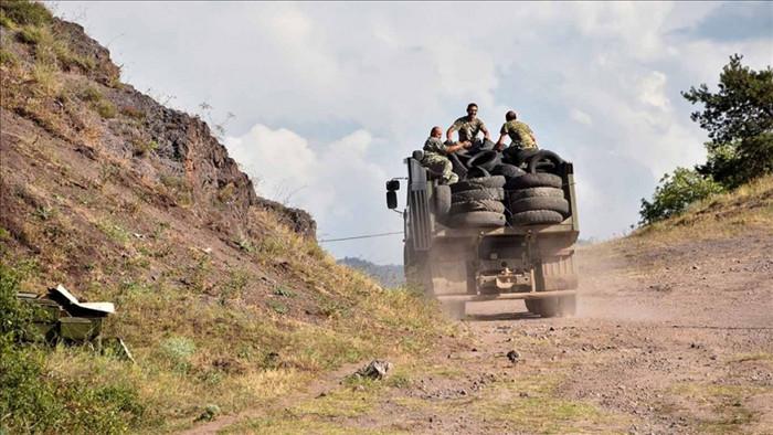 Nagorno-Karabakh vốn thuộc về Azerbaijan nhưng lại có phần lớn cư dân gốc Armenia. Ảnh:AFP.