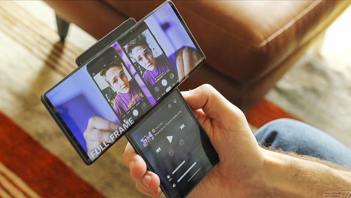 Smartphone màn hình xoay LG Wing có giá chính thức là 999 USD, lên kệ vào ngày 15 tháng 10 - Ảnh 1.
