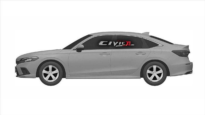 Hé lộ hình ảnh đầu tiên về Honda Civic thế hệ mới 2022 - 2