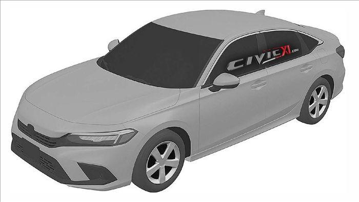 Hé lộ hình ảnh đầu tiên về Honda Civic thế hệ mới 2022 - 1