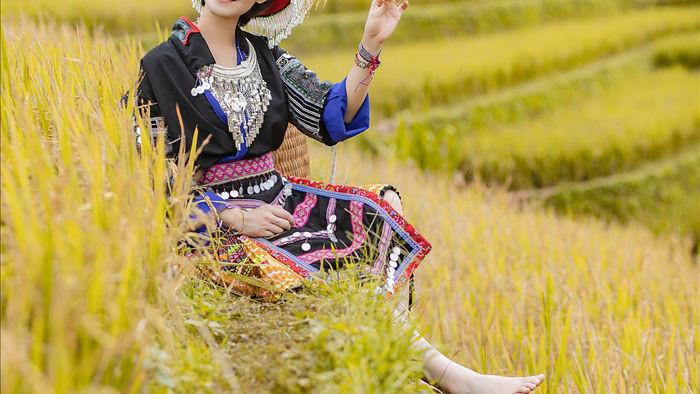 Hoa hậu Du lịch Châu Á mê đắm vẻ đẹp mùa thu Tú Lệ, Mù Cang Chải - 2