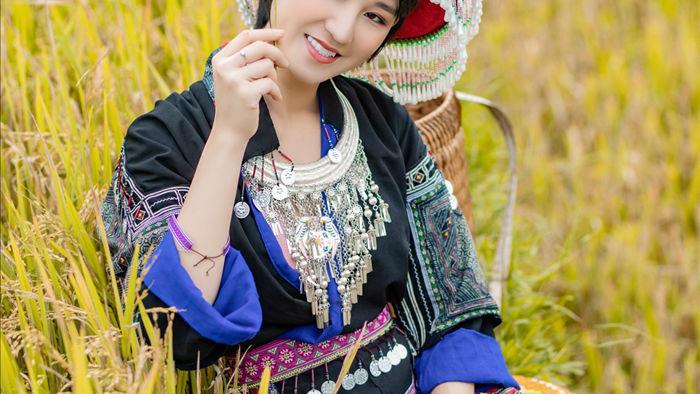 Hoa hậu Du lịch Châu Á mê đắm vẻ đẹp mùa thu Tú Lệ, Mù Cang Chải - 1