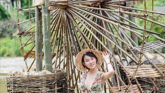 Hoa hậu Du lịch Châu Á mê đắm vẻ đẹp mùa thu Tú Lệ, Mù Cang Chải - 14