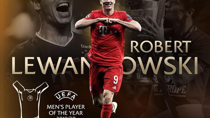 Lewandowski giành giải Cầu thủ xuất sắc nhất châu Âu - 1