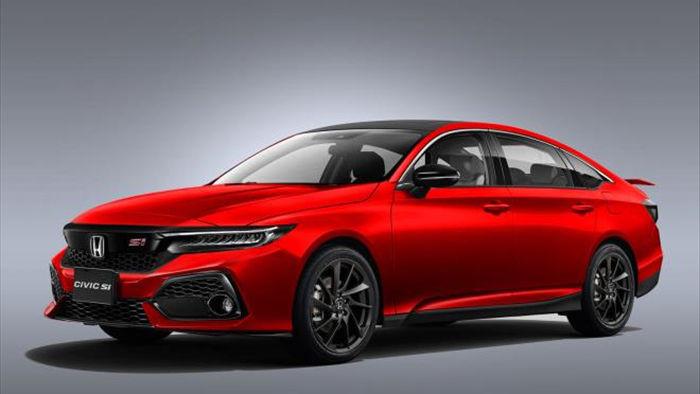 Honda Civic 2022 'lột xác' với thiết kế bóng bẩy - 1