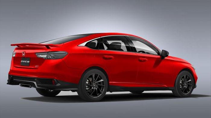 Honda Civic 2022 'lột xác' với thiết kế bóng bẩy - 2