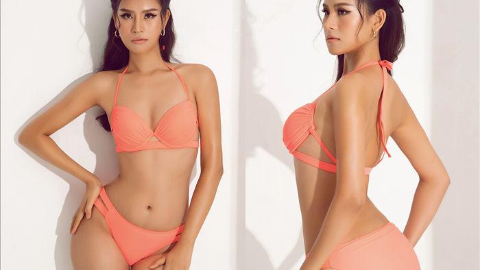 Thái Thị Hoa khoe dáng với bikini trước thềm Hoa hậu Trái Đất 2020 - 1