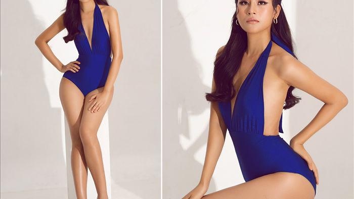 Thái Thị Hoa khoe dáng với bikini trước thềm Hoa hậu Trái Đất 2020 - 4