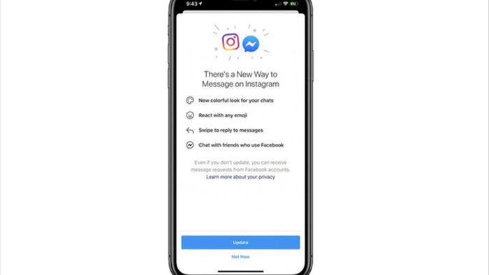 Facebook và Instagram chuẩn bị gộp chung tin nhắn, Messenger có màu mới - Ảnh 1.