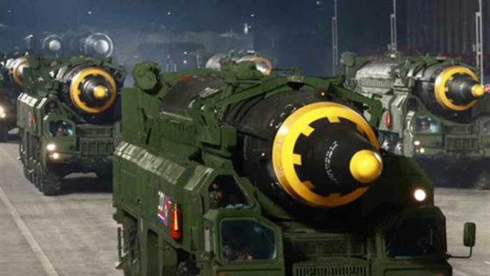 Ảnh:  Chiêm ngưỡng hàng loạt vũ khí hoành tráng trong lễ duyệt binh Triều Tiên - 5