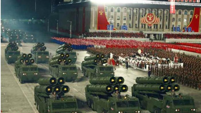 Ảnh:  Chiêm ngưỡng hàng loạt vũ khí hoành tráng trong lễ duyệt binh Triều Tiên - 11