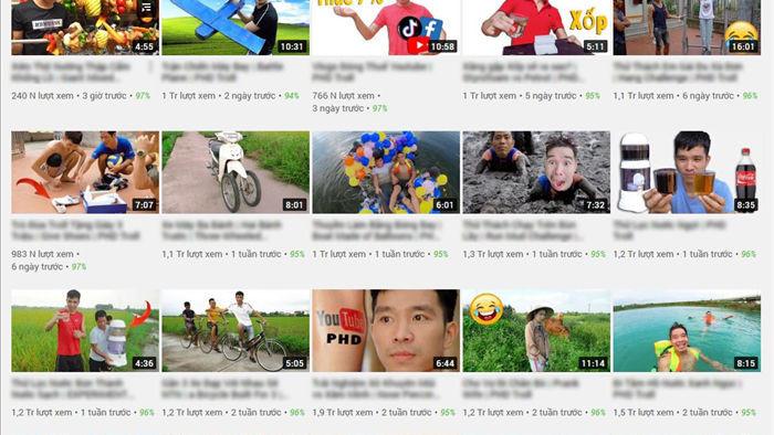 YouTube đang cổ xúy cho video nhảm, vi phạm pháp luật tràn lan tại Việt Nam - 1