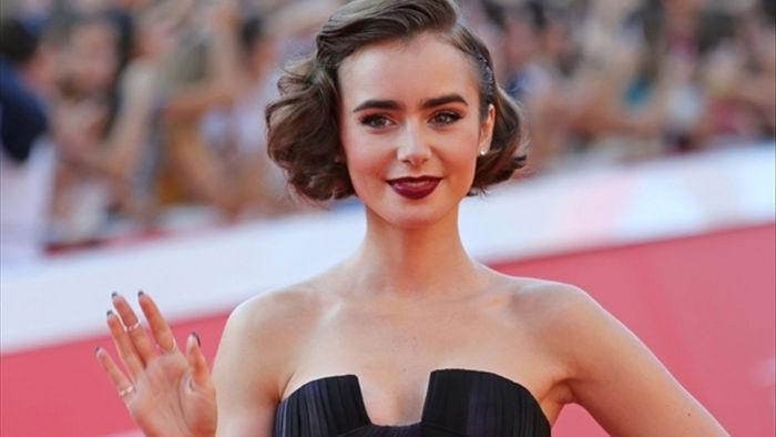 Nhan sắc thiên thần ngắm mãi không chán của Lily Collins 'Emily in Paris'