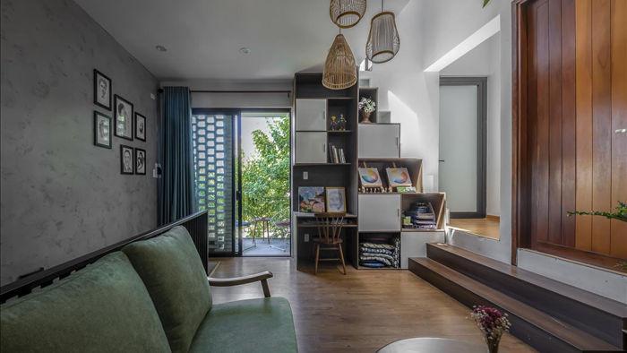 Nhà có khu vườn, bể cá Koi đẹp như resort của vợ chồng trẻ ở Đà Nẵng - 9