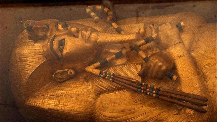 Giải mã bí ẩn trong mộ vị Pharaoh nổi tiếng nhất Ai Cập chứa nhiều đồ ăn - 1