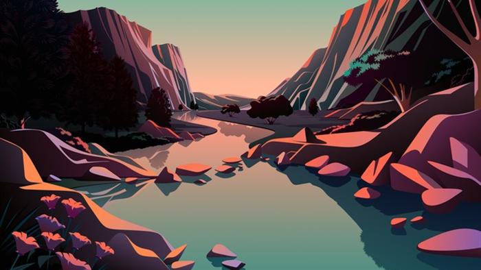 Mời tải về bộ hình nền mới cực đẹp của iOS 14.2 - Ảnh 11.