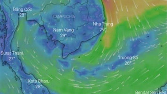 Tham khảo ứng dụng theo dõi và dự báo hướng đi của bão để đề phòng - 1