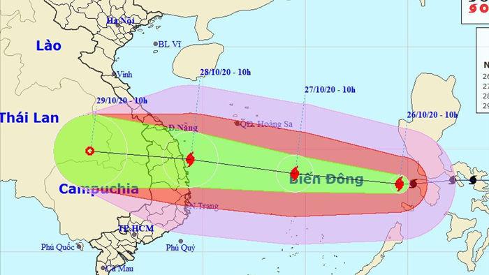Thủ tướng chỉ đạo triển khai ứng phó khẩn cấp bão số 9 - 1