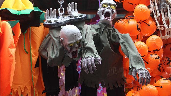 Độc chiêu bán hàng thần tốc mùa Halloween: Càng rùng rợn, càng hút khách - 1