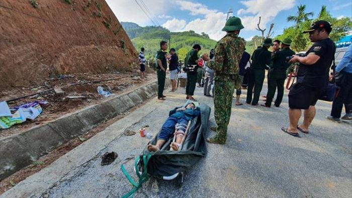 Những hình ảnh đầu tiên của các nạn nhân vụ sạt lở kinh hoàng ở Quảng  Nam - 1