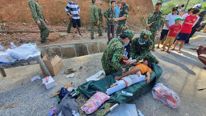 Những hình ảnh đầu tiên của các nạn nhân vụ sạt lở kinh hoàng ở Quảng  Nam - 8