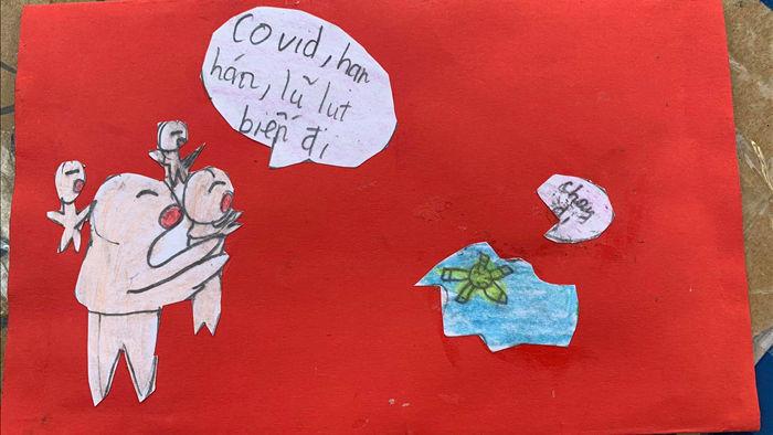 Cảm động bức thư của học sinh lớp 5 ở Hà Nội gửi các bạn vùng lũ - 1