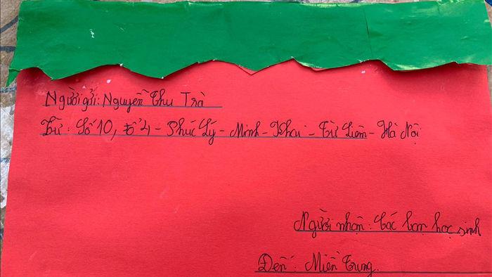 Cảm động bức thư của học sinh lớp 5 ở Hà Nội gửi các bạn vùng lũ - 4