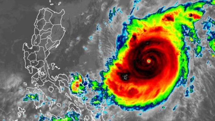 Philippines huy động quân đội, sẵn sàng ứng phó siêu bão Goni - 1