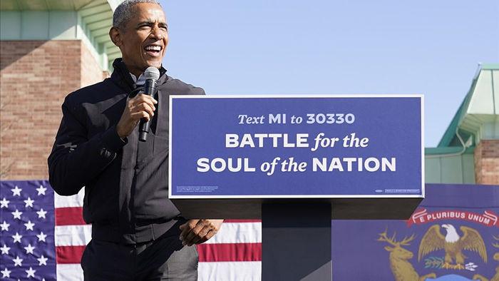 Ông Obama lần đầu xuất trận cùng Joe Biden tại bang chiến trường - 5