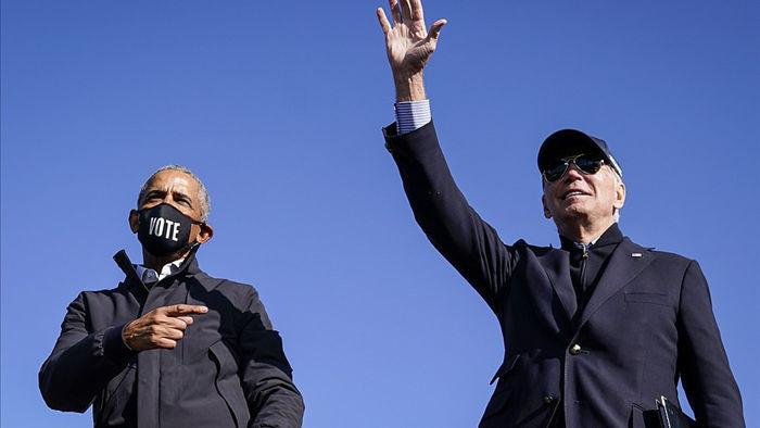 Ông Obama lần đầu xuất trận cùng Joe Biden tại bang chiến trường - 1