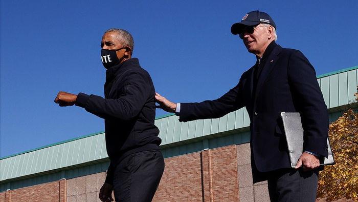 Ông Obama lần đầu xuất trận cùng Joe Biden tại bang chiến trường - 2